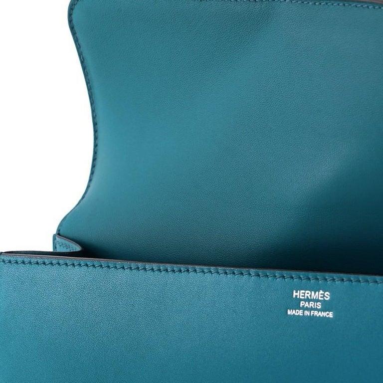 Hermes Egee Clutch Tadelakt For Sale 4