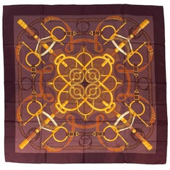 Brown Scarves