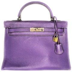 Hermès Epsom Kelly Sellier 32 Anemone Bag