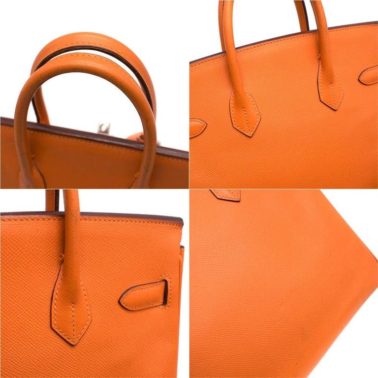 d8e4fd1695 Hermes Epsom Leather Feu Birkin HAC 28 Bag For Sale at 1stdibs