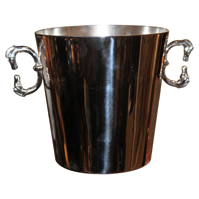 Hermès Equestrian Champagne Ice Bucket For Sale