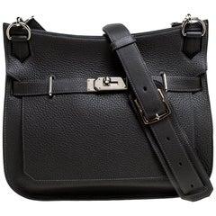 Hermes Etain Taurillon Clemence Leather Palladium Hardware Jypsiere 31 Bag
