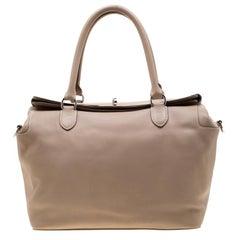 Hermes Etoupe Swift Leather Toolbox 33 Bag
