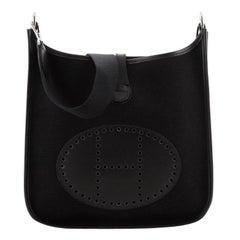 Hermes Evelyne Bag Gen I Toile and Leather PM