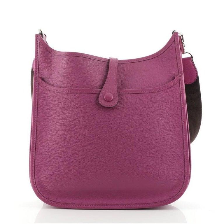 Women's or Men's Hermes Evelyne Bag Gen II Epsom PM For Sale