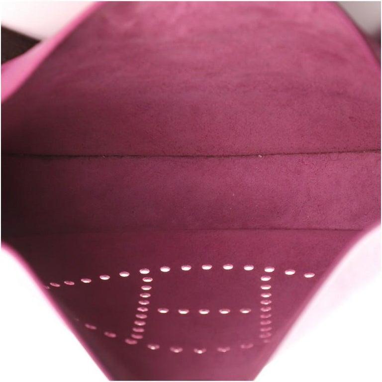 Hermes Evelyne Bag Gen II Epsom PM For Sale 2