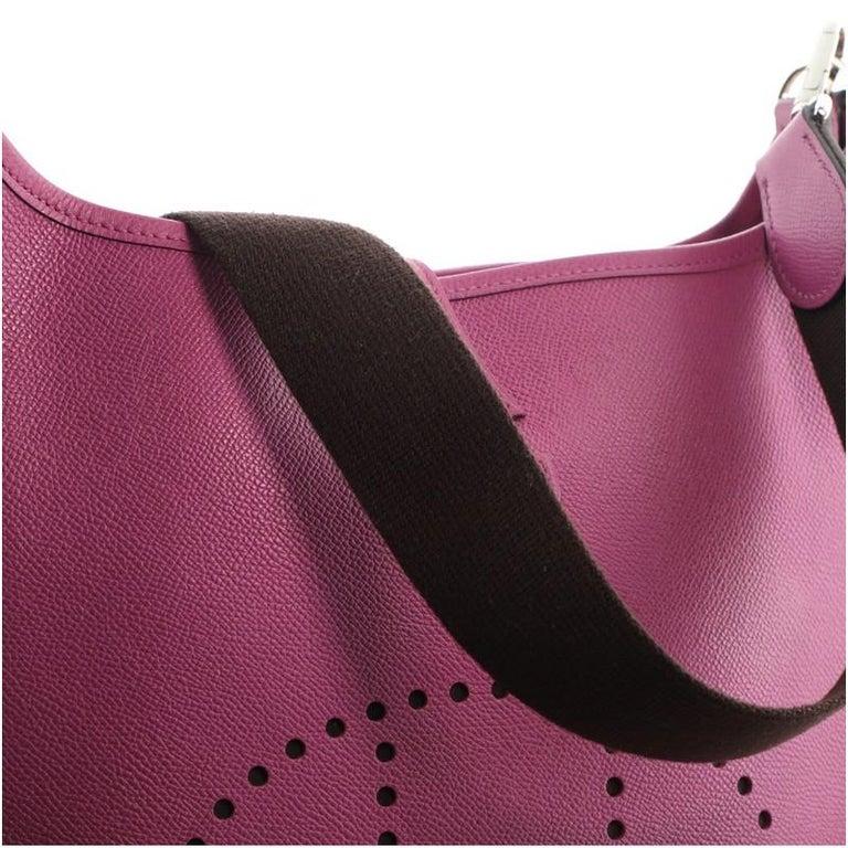 Hermes Evelyne Bag Gen II Epsom PM For Sale 3