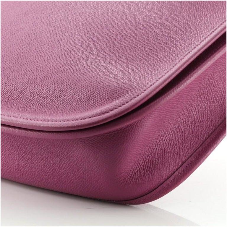 Hermes Evelyne Bag Gen II Epsom PM For Sale 4