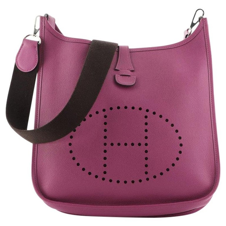 Hermes Evelyne Bag Gen II Epsom PM For Sale