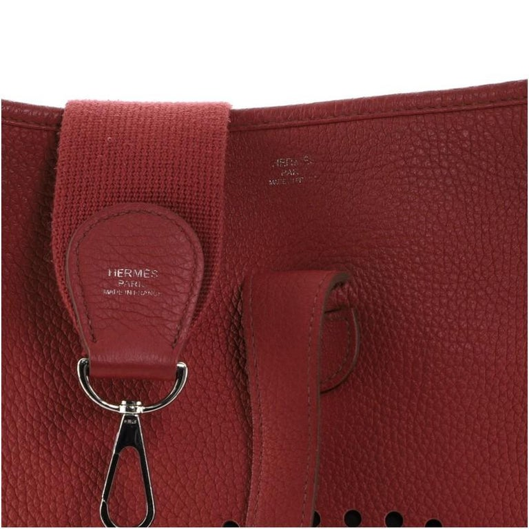 Hermes Evelyne Bag Gen III Clemence GM For Sale 3