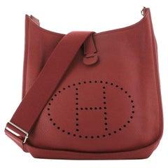 Hermes Evelyne Bag Gen III Clemence GM