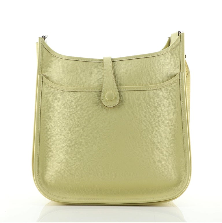 Women's or Men's Hermes Evelyne Bag Gen III Epsom PM For Sale