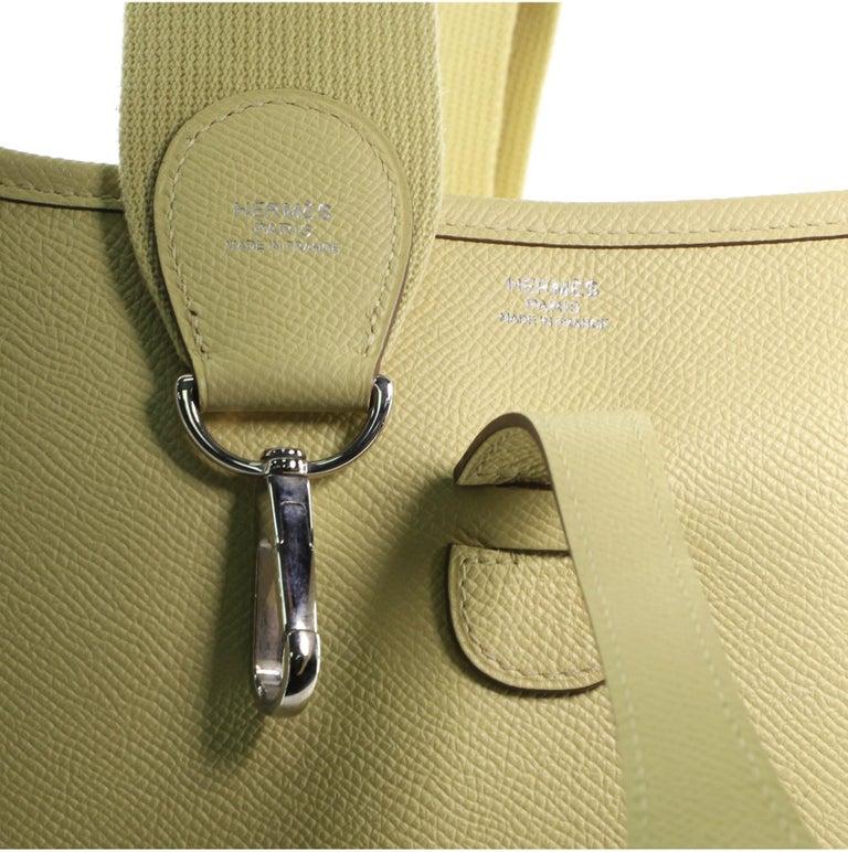 Hermes Evelyne Bag Gen III Epsom PM For Sale 3