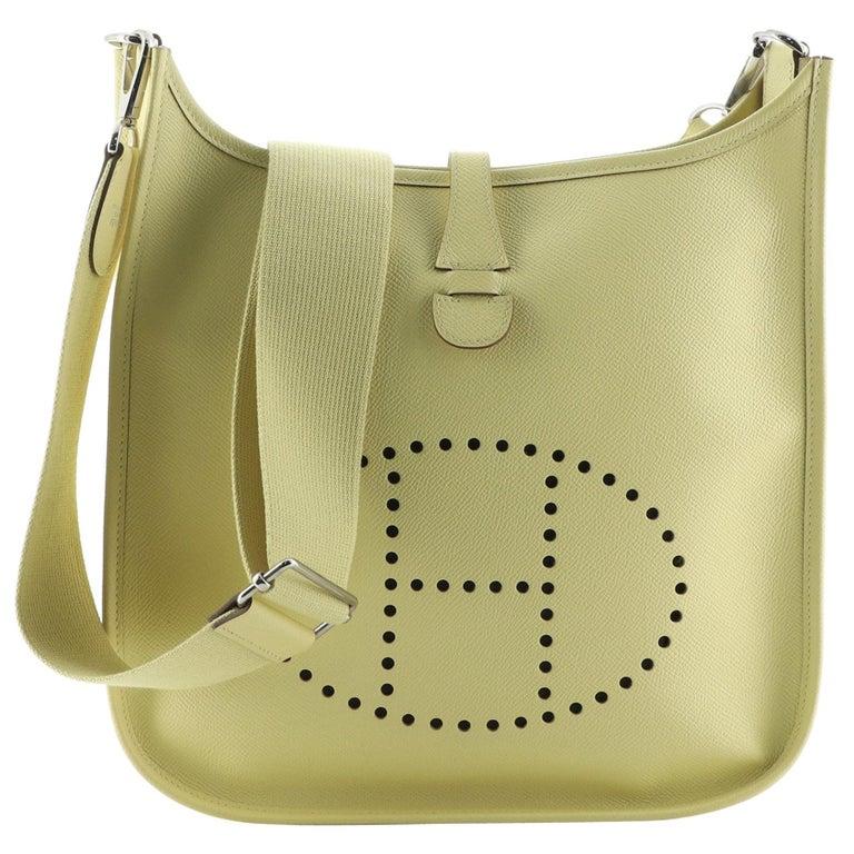 Hermes Evelyne Bag Gen III Epsom PM For Sale