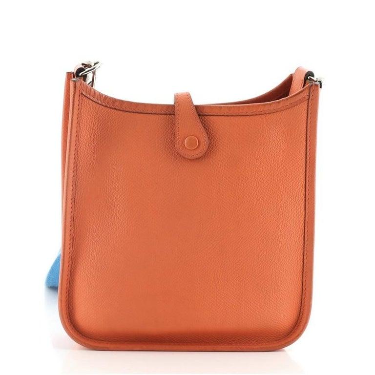 Hermes Evelyne Bag Gen III Epsom TPM In Good Condition For Sale In New York, NY