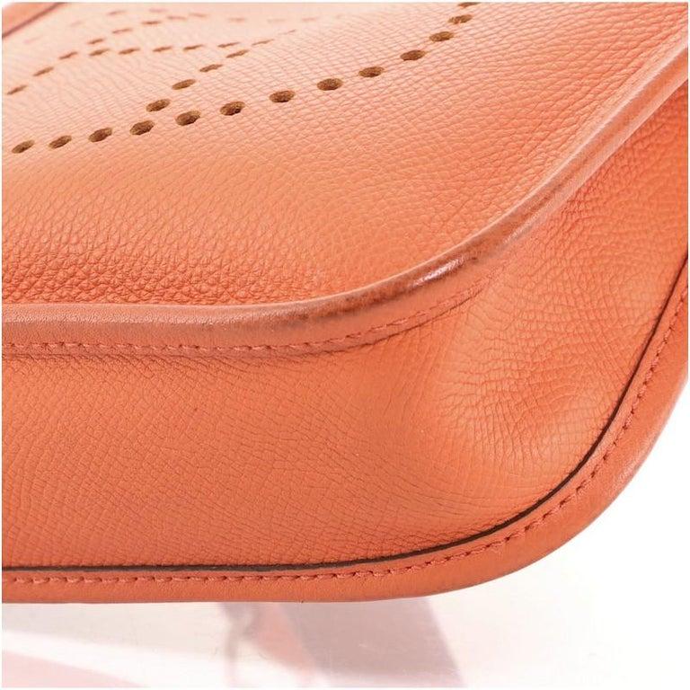 Hermes Evelyne Bag Gen III Epsom TPM For Sale 2
