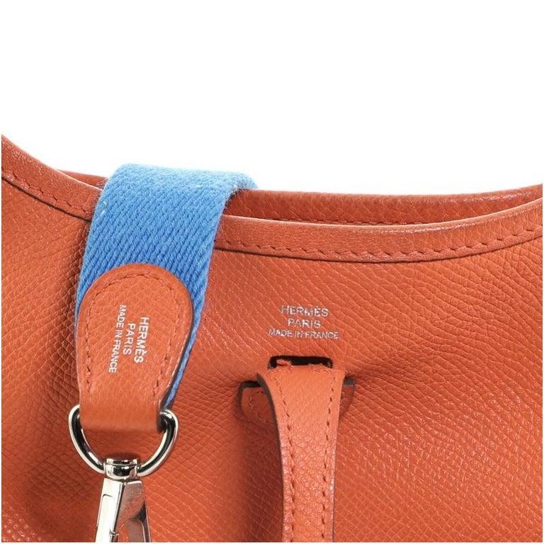 Hermes Evelyne Bag Gen III Epsom TPM For Sale 5