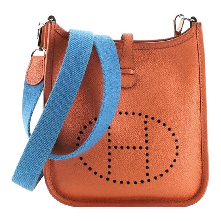 Hermes Evelyne Bag Gen III Epsom TPM For Sale