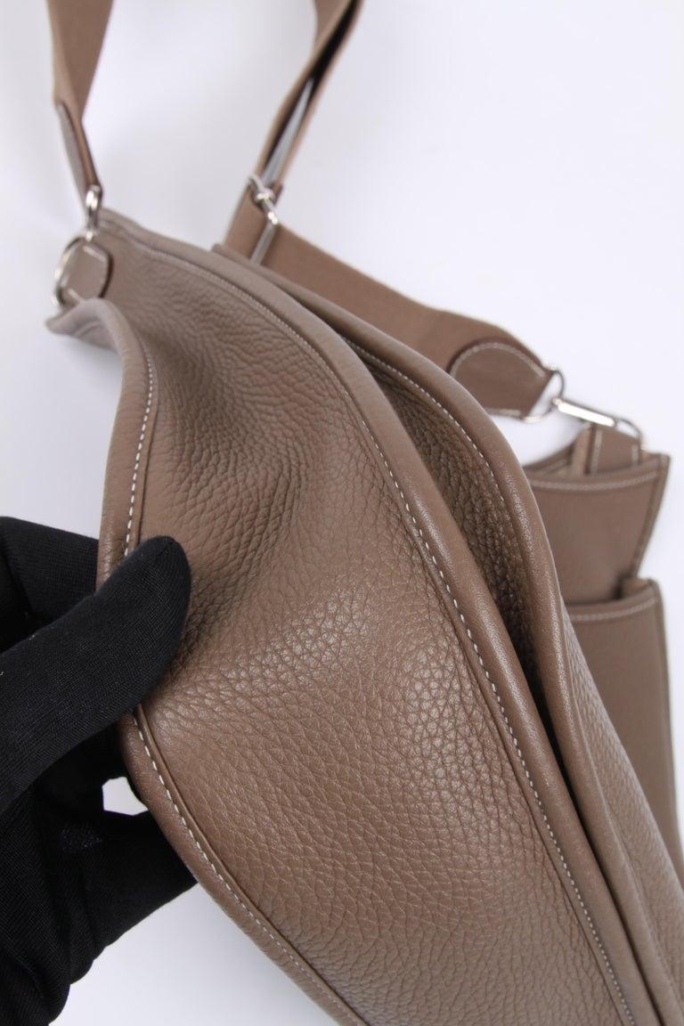 Hermes Evelyne Bag PM - taupe   Hermes Evelyne Bag PM - taupe   Hermes Evelyne For Sale 6