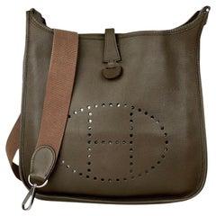 Hermès Evelyne Brown III 29 PM Crossbody Bag