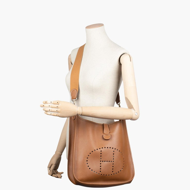 Hermès Evelyne II PM Crossbody Bag For Sale 1