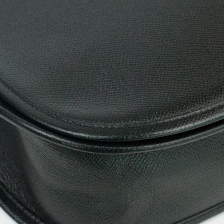 Hermès, Evelyne in black leather 6