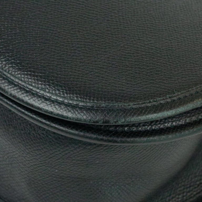Hermès, Evelyne in black leather 7