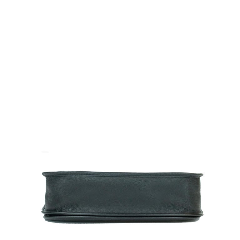 Women's Hermès, Evelyne in black leather