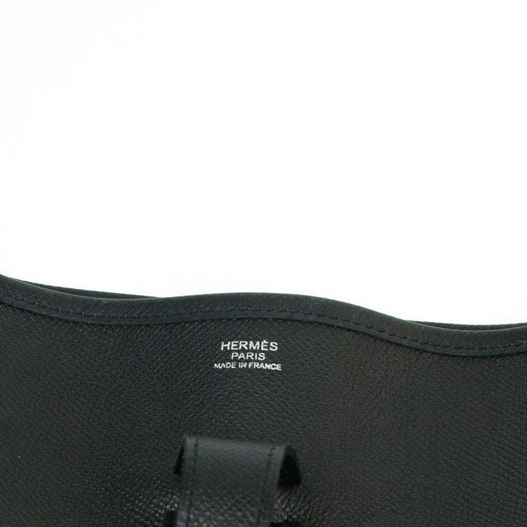 Hermès, Evelyne in black leather 2