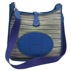 Hermes Evelyne PM in Vibrato Leather and Leather.