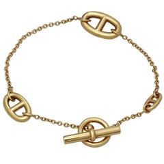 Hermès Farandole Rose Gold Small Bracelet