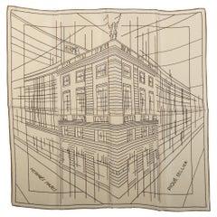 Hermes Faubourg Drawing Medium Scarf