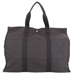 Hermes Fourre Tout Handbag Canvas TGM
