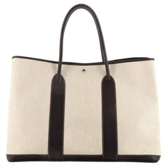 Hermes Garden Party Tote Toile and Leather 49