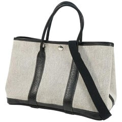 HERMES Garden PartyT PM Womens tote bag black