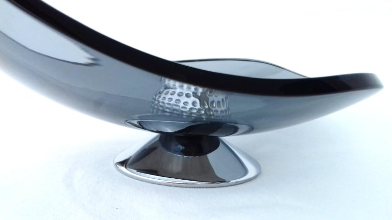Hermès Glass Cup Change Tray Golf Rare For Sale 1