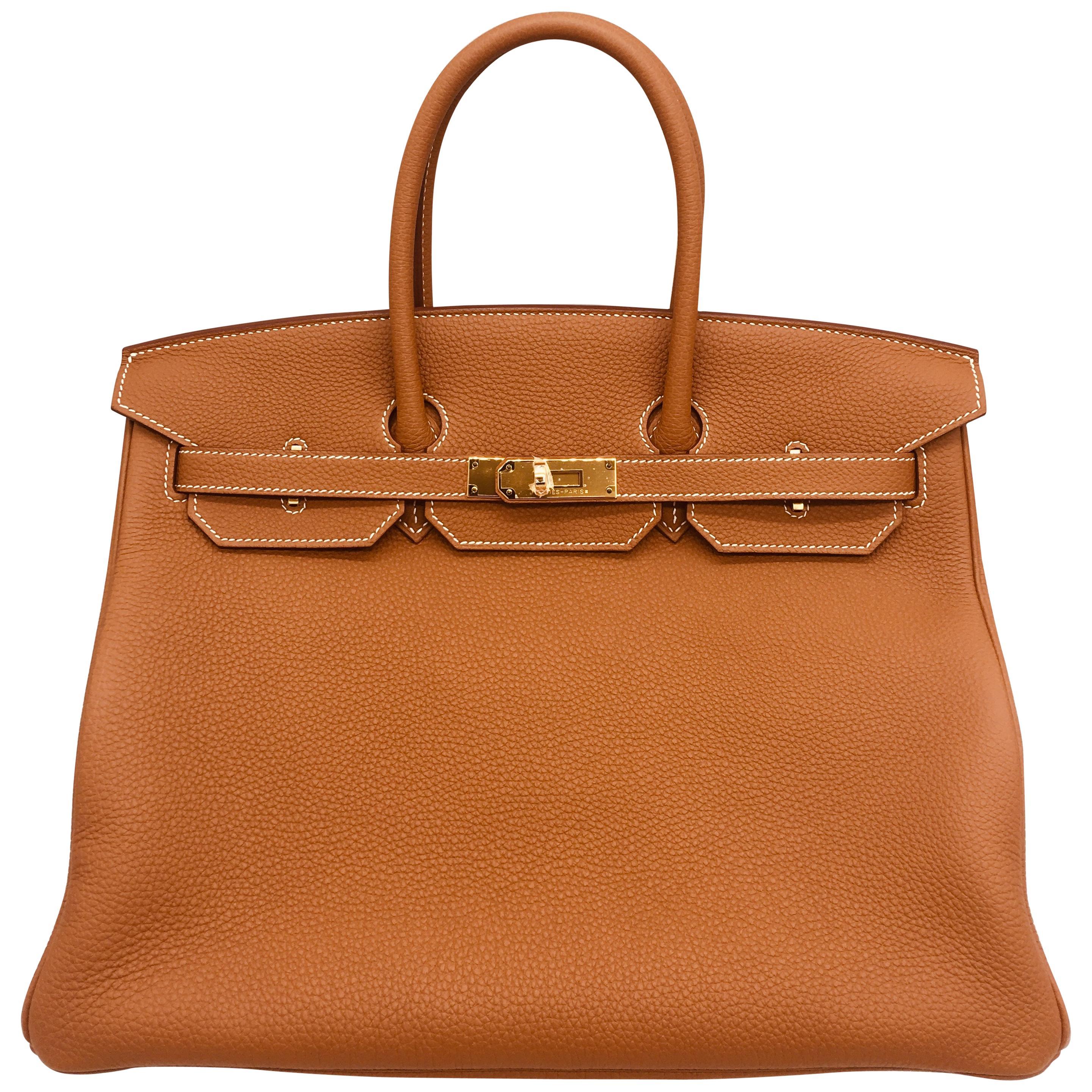 235327d3b1 Hermès Birkin 35 Etoupe Togo PHW For Sale at 1stdibs