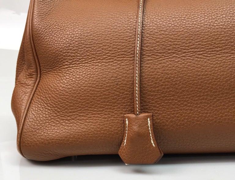 Hermes Gold Birkin PHW 35cm For Sale 3