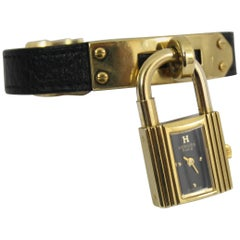 Hermes Gold-Plated Kelly Watch, Retail Price 2575$