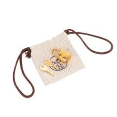 Hermès Golden Padlock for Birkin or Kelly handbags, brand new !
