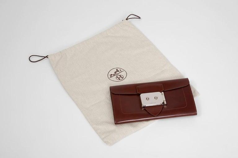 Hermes Goodlock Clutch Bag  For Sale 9
