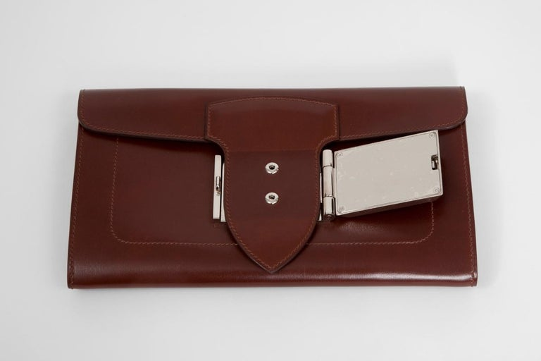 Women's or Men's Hermes Goodlock Clutch Bag  For Sale