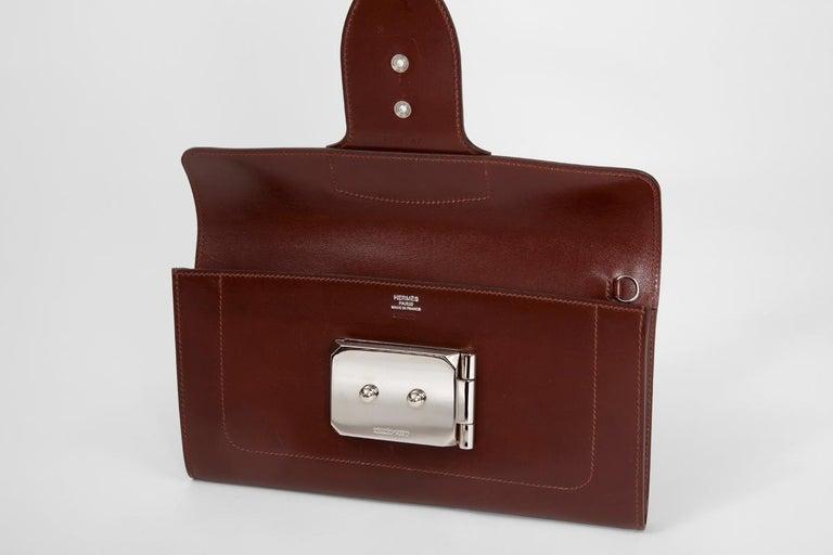 Hermes Goodlock Clutch Bag  For Sale 2