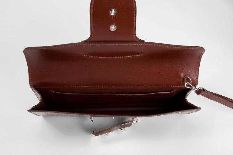 Hermes Goodlock Clutch Bag  For Sale 4