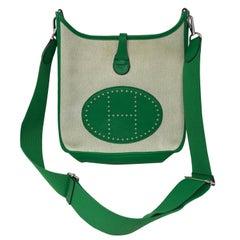 Hermes Green Evelyne Bag
