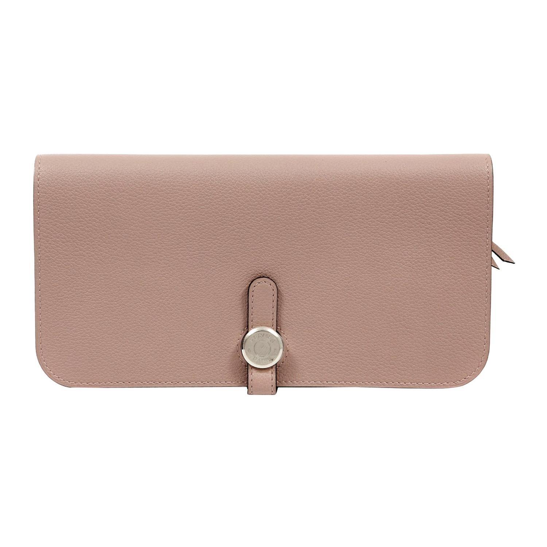 Hermès Gris Asphalt Dogon Wallet
