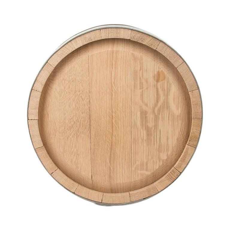 Hermes Groom Stable Bucket Oak Wood Leather Handle New For Sale 8