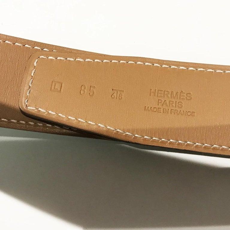 Women's Hermés H Buckle Belt For Sale