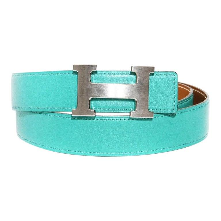 Hermés H Buckle Belt For Sale