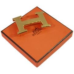 Hermes H Constance Golden Belt 32mm Buckle